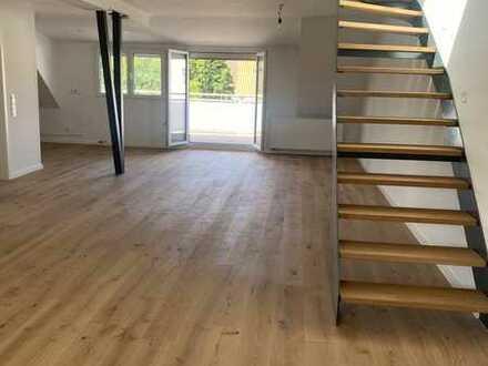 Erstbezug nach umfassender Modernisierung: Exklusive 3ZKBB Maisonette-Wohnung in Mannheim-Almenhof!
