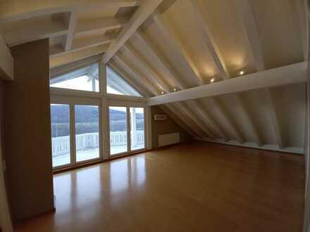 Ansprechende 2-Raum-Dachgeschosswohnung mit EBK und Balkon in Neckarzimmern für 2 Personen