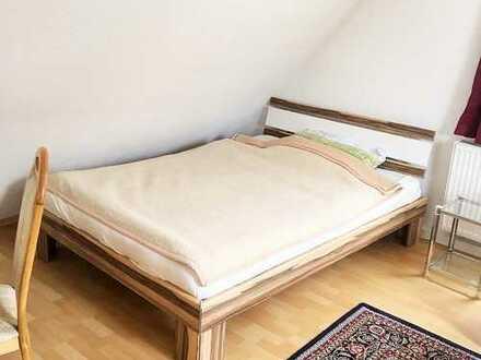 Online buchbar: möbl. 1-Zimmerwohnung, komplett ausgestattet, flexibel mieten ab 1 Monat