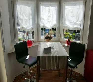 Möblierte, schöne 1,5 ZKB-Wohnung mit großem Balkon