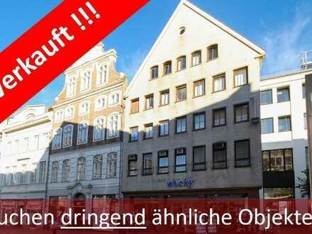 AAA-Lage in der Fußgängerzone von Lübeck