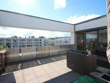Highlight-Penthouse im Künstlerviertel mit XXXL-Dachterrasse!