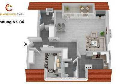 MIETEN statt Kaufen - sanierte außergewöhnliche 2,5-Zi-Wohnung, Stadtrandlage, bei der Dümpelsmühle