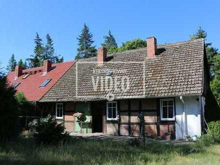 Doppelhaushälfte in idyllischer Lage - Glashütte bei Rothenklempenow