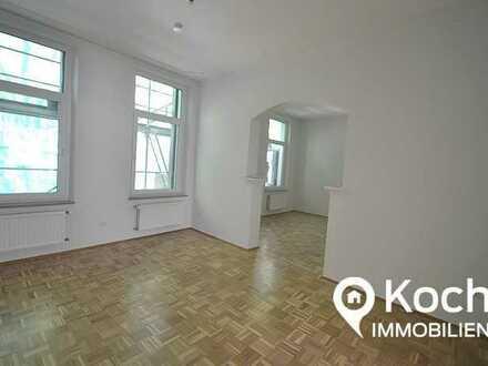 Moderne Drei-Zimmer-Wohnung mit Einbauküche auf der Rütscher Straße zu vermieten!
