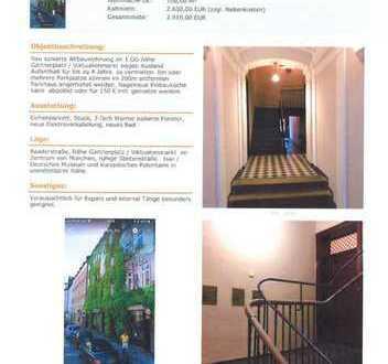 4-Zimmer-Wohnung mit Balkon und Einbauküche in Ludwigsvorstadt-Isarvorstadt, München