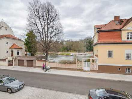 Die Saale direkt vor der Tür - Sonnige 3,5-Zimmer-Wohnung in Kröllwitz