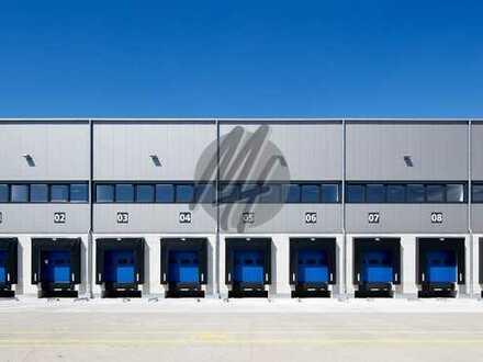 NEUBAU ✓ RAMPE + EBEN ✓ Lager-/Logistikflächen (2.200 m²) & Büroflächen (350 m²) zu vermieten