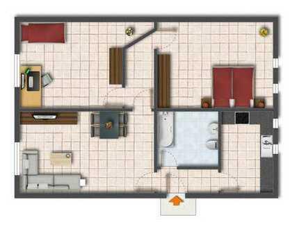 Bild_3-Zimmer-Wohnung im Stadtzentrum, frisch renoviert, Erdgeschoß