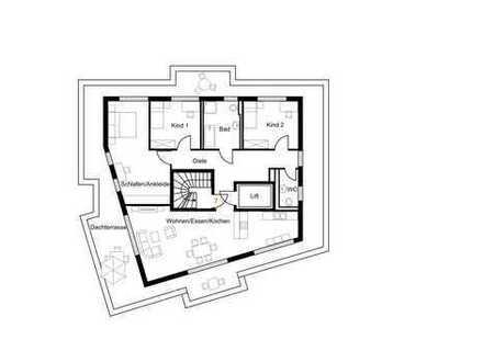 Attraktive Wohnungen in der Lüftestraße Bsp. Whg 7