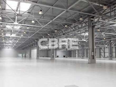 Kaufen Sie über CBRE!! Hallenfläche mit Verwaltungsgebäude