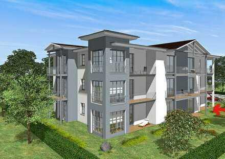 Neue 3-Zimmer-EG-Wohnung mit 20 qm-Terasse+EBK in Bad Doberan / Kammerhof