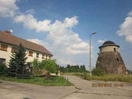 Große 2-Raumwohnung am Ortsrand von Leitzkau mit Fernblick in wunderschöner grüner Landschaft