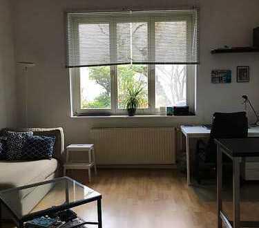 Sehr zentrale, gemütliche 2-Zimmer-EG-Wohnung mit Garten
