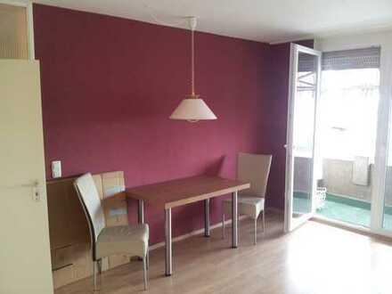 Exklusive, sanierte 2-Zimmer-Wohnung mit Balkon und Einbauküche in Mainz