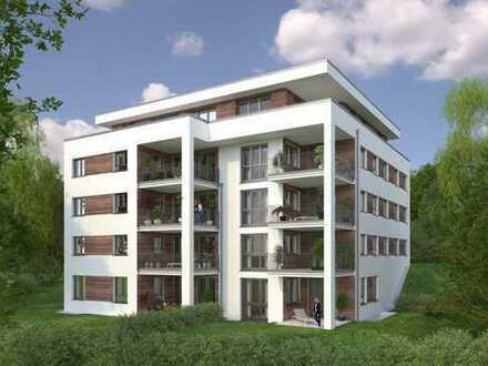 Jetzt Baustelleninfo: Sonntags von 14-15 Uhr! Pfiffige 2-Zi.-Whg mit großer Terrasse und Garten