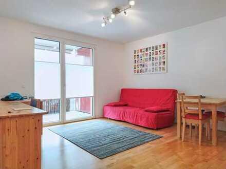 Schöne, möblierte, zwei Zimmer Wohnung in Heidelberg, Bergheim befristet für 2 Jahre zu vermieten