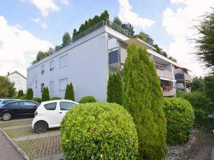 Schöne 2 Zimmer-Wohnung mit Balkon in Horkheim.