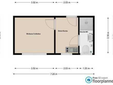 1-Zimmer Wohnung in Bad Wörishofen nähe Ostpark