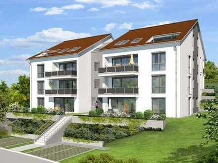 Neuwertige 2-Zimmer-Erdgeschosswohnung mit überdachter Terrasse in Winnenden