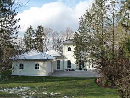 Villa, Juwel, neuwertig, 2 Terr., sep. Eingang, rundum Wald, 2 Bäder, Energiesparhaus