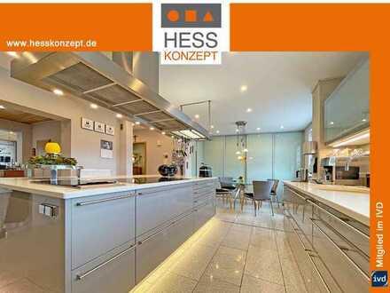 MODERIERTER OBJEKTFILM: Freistehendes 220qm-Haus mit Einliegerwhg., Garage + 3 PKW-Plätze, Küche usw