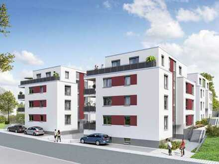 Schicke 2-Zimmer Wohnung mit Süd-Ost-Terrasse