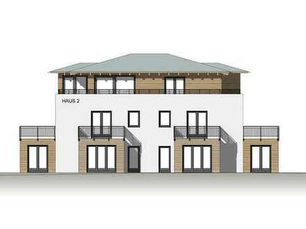NEUBAU 3-Zimmer Wohnung mit 2 Terrassen - KfW-Effizienzhaus 55