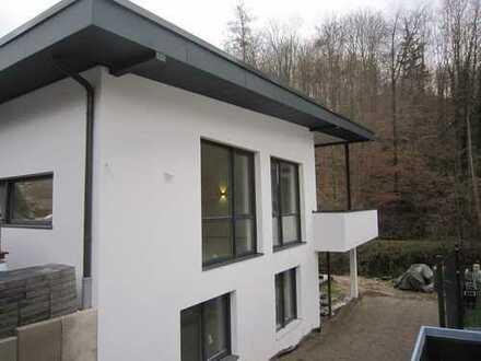 Erstbezug: exklusive 4-Zimmer-EG-Wohnung mit Balkon in Bensheim