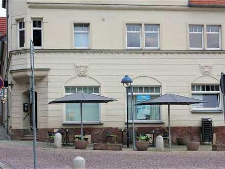 Nettes kleines Kaffee direkt am Markt in Rötha incl. Inventar