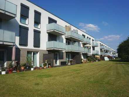 Geräumige Erdgeschoss-Wohnung mit Terrasse