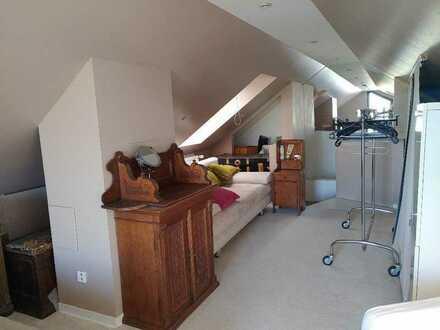 Helles Zimmer mit großer Dachterrasse in Uninähe