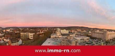 *** Panoramablick über Heilbronn: Hochwertig sanierte 2 ZKB Wohnung mit Balkon & TG-Stellplatz