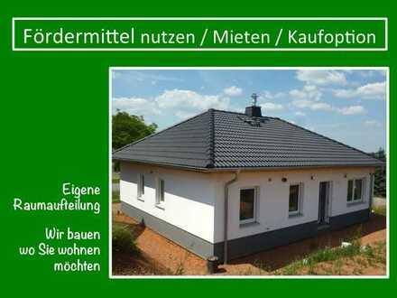 wir bauen das Haus + Sie gestalten den Garten