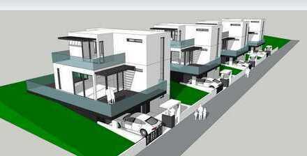 Neubau von Einfamilienhäusern direkt am See