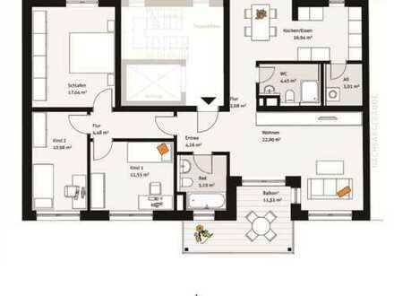 Sonnige 4-Zimmer-Wohnung in der Fürther Südstadt