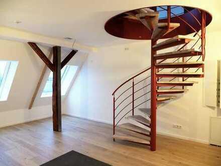 Erstbezug: Exklusive 2-Zimmer-Maisonette-Wohnung mit EBK in Eggenstein