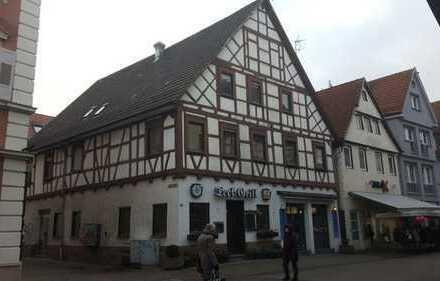 *Provisionsfrei* Charmantes Fachwerkhaus in der Fußgängerzone mit 3 Wohneinheiten & 1 Gewerbeeinheit