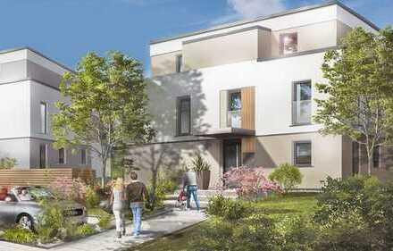 Oberursel: Work-Life-Balance - neuwertige 3 Zimmer-Wohnung mit allem Komfort - herrliche Terrasse