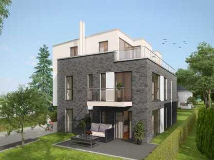 3,5-Zimmer-Neubau-Penthousewohnung in ansprechender Wohnstraße