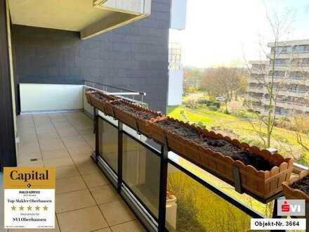 Erstbezug nach Renovierung! Ca. 110 m² Wohnung mit großem Balkon in Mülheim-Broich
