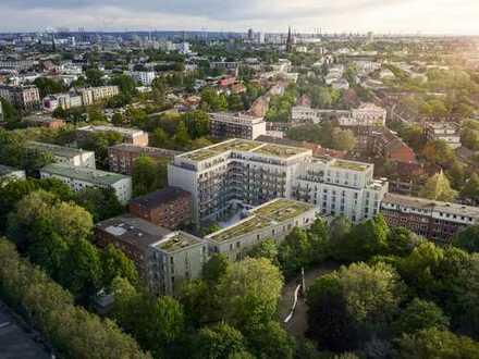 Stilvolle 2-Zi.-Wohnung mit Balkon zwischen quirligem Schanzenviertel und grünem Westen Eimsbüttels