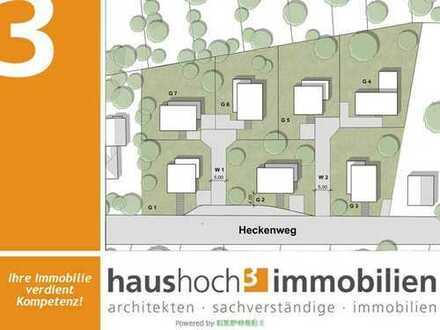 haushoch3 - Grundstück G1 mit exklusiver Bebauungsmöglichkeit!