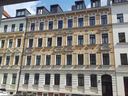 Zauberhafte 1 Raum Wohnung mit Balkon Gohlis Mitte  Top Lage!