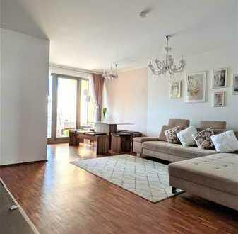 [Reserviert] Moderne 3,5-Zimmer-Wohnung mit Balkon und Einbauküche in Trudering Riem, München