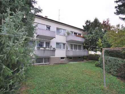3 Zimmerwg. im Hochparterre plus Balkon und Garten frei ab 30.06. 20