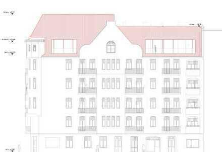 Einmalig schöner Dachrohling in bester Platzlage, Baugenehmigung für 2 Wohnebenen vorhanden