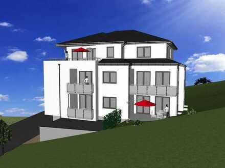 Neubau 3-Raum-Wohnung mit Terrasse oder Balkon in ruhiger Stadtlage von Olpe
