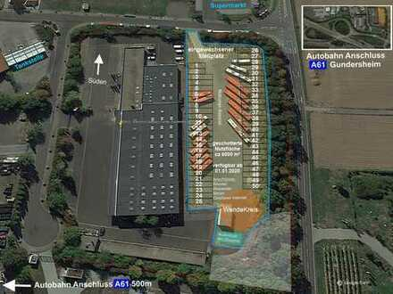 Direkt an A61 große Stellfläche für Logistikbranche