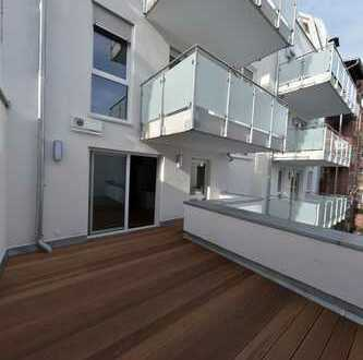 Traum am Stadtpark: Hochwertige 2-Zi Wohnung mit 22qm Dachterrasse für den anspruchsvollen Single